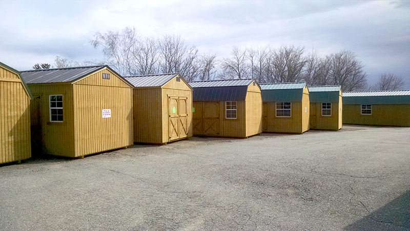 Wentworth motors inc old hickory buildings sheds for Garage packages maine