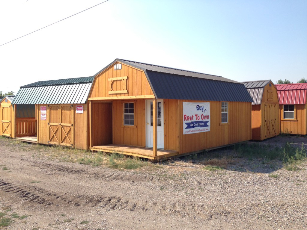 Brian giffin old hickory buildings sheds missoula mt for Garages and more