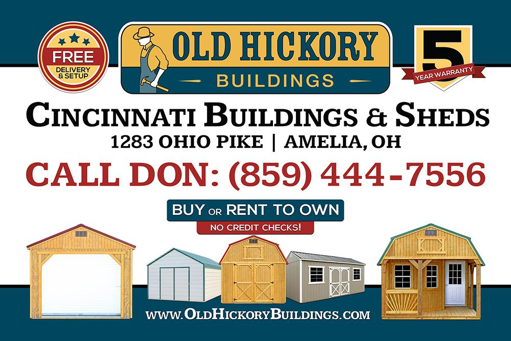 Cincinnati Buildings and Sheds - Old Hickory Buildings