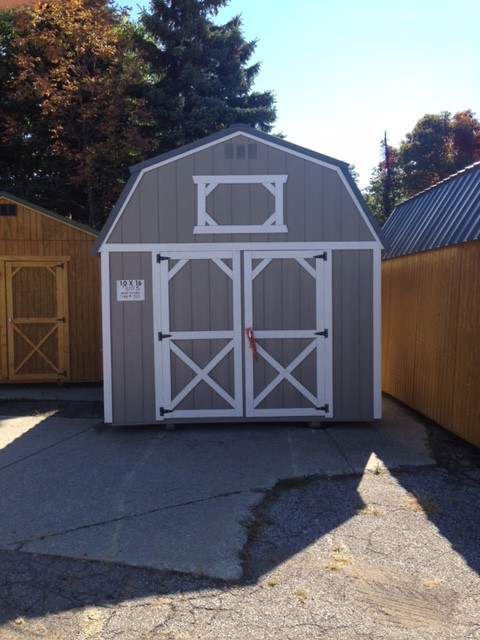 Old Metal Shed
